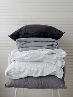 slow morning   linen   bedding   neutral linen   grey   white   WEEKDAYCARNIVAL : Slow morning