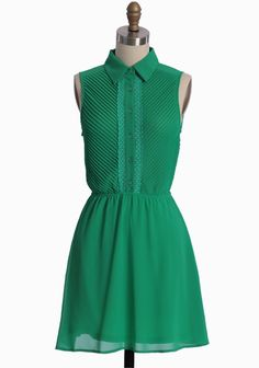 Emerald City Dress from Shopruche.com.  We're off to see the Wizard!