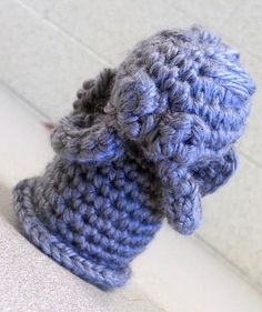Weeping Angel Amigurumi $14