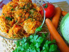 Słodko Słodka: Leniwe Gołąbki. Shrimp, Carrots, Meat, Chicken, Vegetables, Cooking, Food, Kitchen, Essen