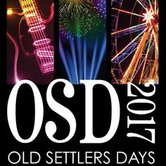 Jake Owen and Trace Adkins on the Main Stage at Old Settlers Days this June in Rockton, IL.
