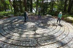 Jeffrey Bale's World of Gardens: The Halls Hill Labyrinth, The Sun