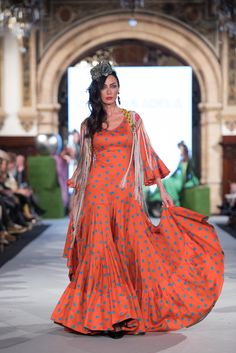 We Love Flamenco 2020 - Sevilla Flamenco Costume, Flamenco Skirt, Dance Costumes, Flamenco Dresses, Abaya Fashion, Fashion Dresses, Spanish Fashion, Organic Cotton, Casual Outfits
