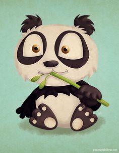 Just a Random Panda by KellerAC.deviantart.com on @deviantART