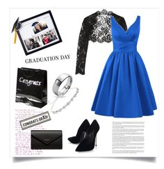 """Congrats Grad!"" by ildiko-olsa ❤ liked on Polyvore featuring New View, Bling Jewelry, Oscar de la Renta, Casadei, Buy Seasons, Miss Selfridge, Balenciaga and Graduation"