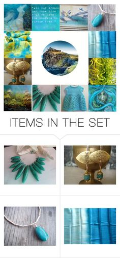 """""""Dreaming In Color"""" by jarmgirl ❤ liked on Polyvore featuring art, etsy, artset, artexpression and EtsyPolyvore"""