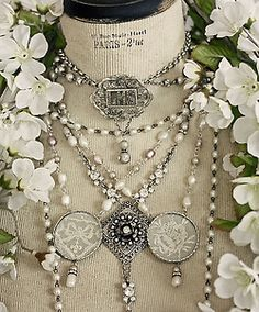 Pearls and lace