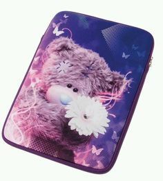 Personalise your laptop with this stylish photo finish designed Me to You Bear laptop sleeve and protect it from bumps and scratches Blue Nose Friends, Tatty Teddy, Brand Me, Laptop Covers, Laptop Accessories, Laptop Sleeves, Iphone, Birthday, Cute