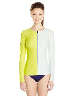 Roxy Juniors Zip It Rashguard *** You can find more details by visiting the image link.