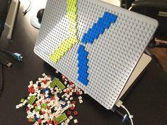 X MacBook Case from BrikBook.com macbook, macbook case, pixel, pixel art, 8bit Shop more designs at http://www.brikbook.com #macbook #macbookcase #pixel #pixelart #8bit