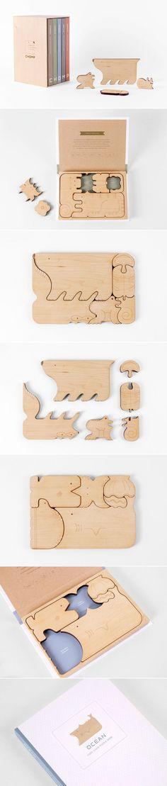 Beautifully Designed CHOMP Food Chain Puzzle Books | Mirim Seo and Kelly Holohan