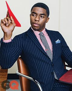 An important point made by GQ - patterns can clash as long as your proportions are in sync.