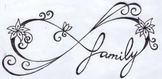 Infinity/Family Tattoo by KariCliche.deviantart.com on @DeviantArt