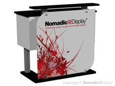 TRADE SHOW DISPLAY FEATURE-ACCESSORY- NOMADIC SERIES CUSTOMIZABLE DESIGNLINE COUNTER