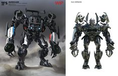 Barricade TF5 concept art
