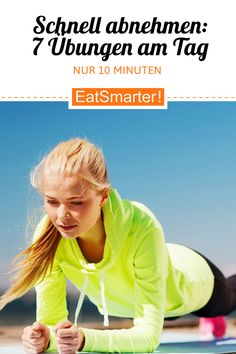 Lose weight quickly: 7 exercises, 10 minutes a day eatsmarter.de weight Informations About Schnell abnehmen: 7 Übungen, 10 Minuten am Tag Pin You can easily use my …