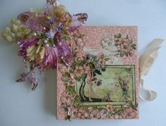 """Caixa Livro segredo das Fadas   """"para descobrir o segredo das fadinhas é só abrir a caixa livro....""""     ...flores do belo jardim são..."""