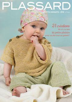 Partez à la découverte de notre nouveau catalogue de tricot Layette Enfants été No 130. Baby Knitting, Free Pattern, Catalogue, Crochet Hats, Baby Knits, Raglan, Fashion, Baby Things, Knitted Gloves