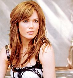 mandy moore - hair cut and color
