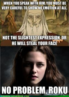 LOL! This makes me laugh. I've heard so much shenanigans about her emotionless face...so funny.