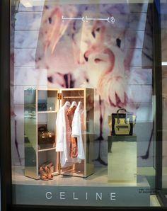 celine window display - dubai