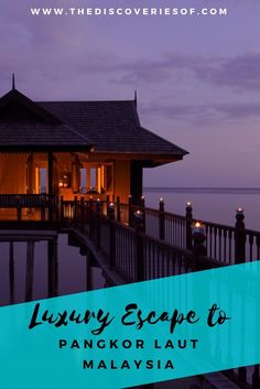 A luxury holiday to Pangkor Laut Malaysia should be at the top of every luxury travellers bucket list. Read why.