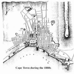 Cities In Africa, Africa Map, South Africa, Old Pictures, Old Photos, Cape Colony, Most Beautiful Cities, Antique Maps, Historical Pictures