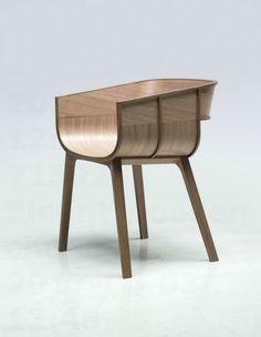 Elegant wooden chair