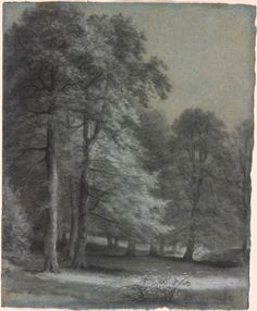 The Park at Malmaison. Pierre-Paul Prud'hon, 1758-1823.