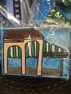 All Things New, Beignets, New Orleans, Painting, Art, Art Background, Painting Art, Kunst, Paintings