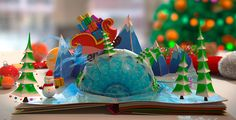 Christmas Pop-Up Book / Play preview video