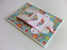 """Coisas que Gosto: DIY   Como Fazer uma Cascata - Cartão """"I Love You""""..."""