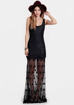 Oleander Maxi Dress By Black Swan (from AHS Coven)