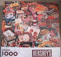 """Springbok """"Hershey's"""" 1000 Pc Jigsaw Puzzle Springbok http://www.amazon.com/dp/B002YCH690/ref=cm_sw_r_pi_dp_gZVeub1F4C4ET"""