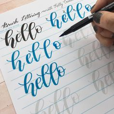 Have some fun with your lettering and practice words that bounce! Learn how with the new Bouncy Brush Lettering worksheet set with a BONUS set of free Basic strokes and Drills!