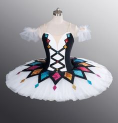 Classical Professional Ballet Tutu Made to Your Size Harlequinade 4 Competition | eBay