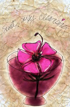 Hibiscus, sweet, sexy and cleansing...What my #Tea says to me August 5th, cheers.
