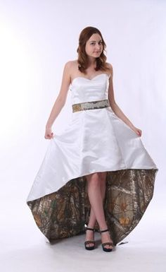 Spectacular Cheap camo wedding dresses for sale online