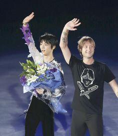 写真 : YOMIURI ONLINE(読売新聞) 読売新聞(YOMIURI ONLINE):TOI2014プルシェンコ、羽生,Evgeni Plushenko