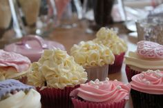 """Passion 4 baking """"My best vanilla cupcakes (whipped cream in the batter)"""