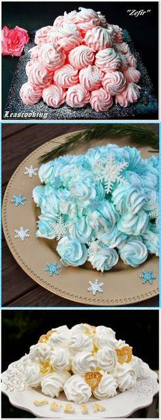 "Lea's Cooking: Raspberry Marshmallow ""Zefir"" (Зефир) #Russian_recipes #Russian_desserts"