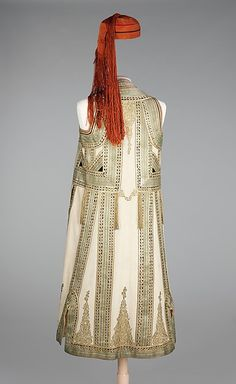 Ensemble (image 2) | Albanian | fourth quarter 19th century |  wool, silk, cotton, metal | Brooklyn Museum Costume Collection at The Metropolitan Museum of Art | Accession Number: 2009.300.651a–c