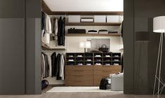 Walk-in wardrobe idea