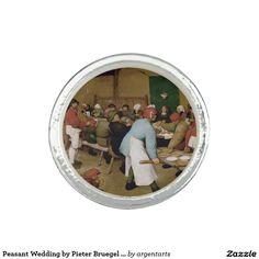 Peasant Wedding by Pieter Bruegel the Elder Photo Rings