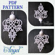Tatting Earrings, Tatting Jewelry, Tatting Lace, Crochet Earrings, Needle Tatting Patterns, Crochet Flowers, Crafty, Handmade, Crosses