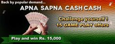 play and win cash india
