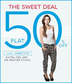 Additional 20% off on winter stock at #americanswan for more coupons and deals