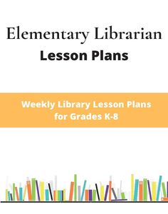 Library Plan, Library Lesson Plans, Library Center, Library Ideas, School Library Lessons, Elementary School Library, Elementary Education, Librarian Career, School Librarian