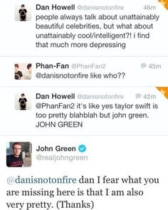 John Green - Level : Awesome