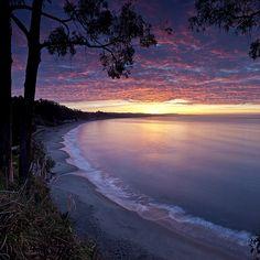 New Brighton Sunrise - Capitola, CA (by Matt Hofman)